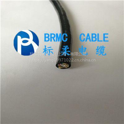 水下机器人内部链接专用水密电缆 3x0.3聚醚线缆
