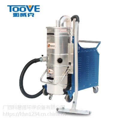 来宾工业吸尘器质量稳定100L大容量除尘设备