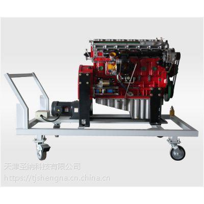 供应圣纳雷机沃六缸柴油发动解剖运行试验台采用鸡肋力式解剖 汽修实训设备