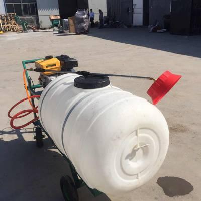 200升拉管式汽油打药机 四冲程高压喷雾器 拉管式汽油喷雾机