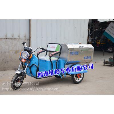 河南彦鑫牌不锈钢保洁车YXBJY-03轴距短