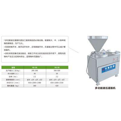 小型液压香肠灌肠机 液压灌肠食品机械 山东食品机械厂家