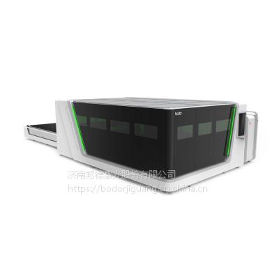 邦德S2060 重型全包围交换品台式光纤激光切割机