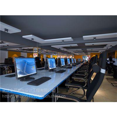 武汉工装设计 网咖装修后期灯光搭配