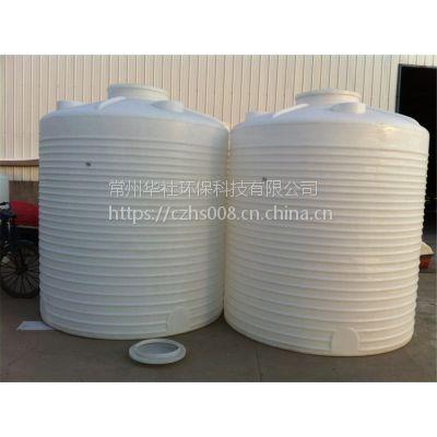 山西农村家用5吨储水桶 食品级室外5立方饮用水容器 江苏pe白色立式大桶罐