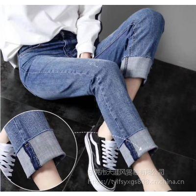 贵州哪里有便宜牛仔长裤批发网上哪里有牛仔长裤尾货批发五元以下女仔长裤批发