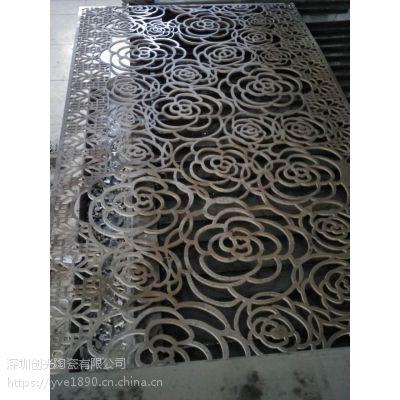 深圳装饰铜板水切割加工