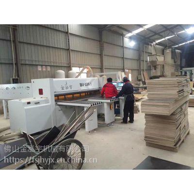 金泓宇电子裁板锯包装木箱 托盘卡板专用大批量开夹板 胶合板专用数控全自动开料机