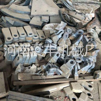 破碎机耐磨板锤 鄂式破碎机齿板、边护板配件七折优惠中 厂家直销震丰机械支持定制