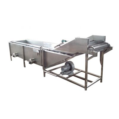腌渍菜大规模清洗机 翻浪气泡式不锈钢洗菜机 厂家定制可加工