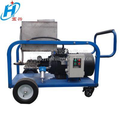 高压清洗机 清除烟道的灰垢和转炉的风机 宏兴