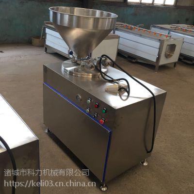 双管液压灌肠机价格,腊肠灌肠设备哪里有卖的灌肠机