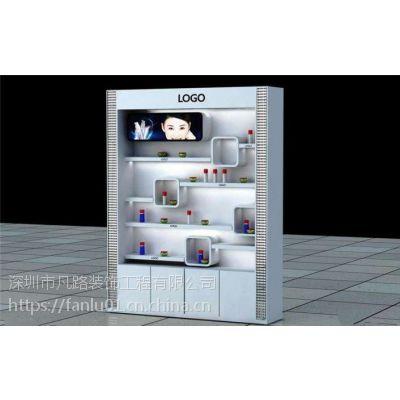 展示柜厂家 精品玻璃展柜 钛合金货架 汽车用品展示架 化妆品展柜 凡路展柜