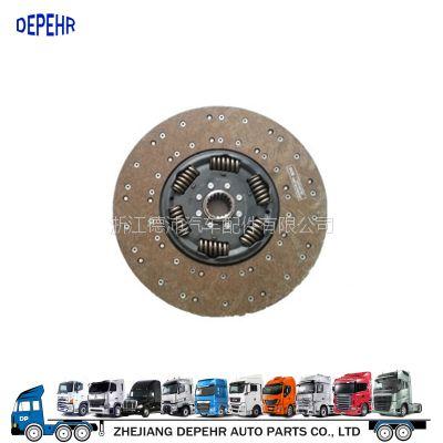 浙江德沛供应欧系离合器副厂件摩擦片奔驰卡车铜430离合器片1878005165/1878002730