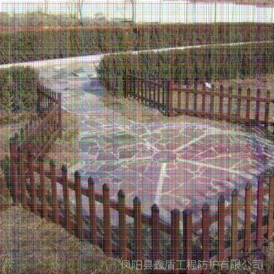 四川成都金堂塑钢绿化围栏 扬州pvc塑钢护栏 草坪护栏供应商