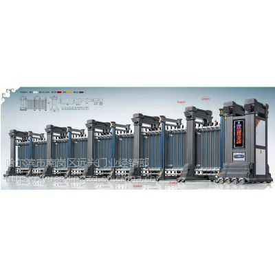 供应各种材质伸缩门 学校电动伸缩门 ,机关单位电动伸缩门,伸缩门