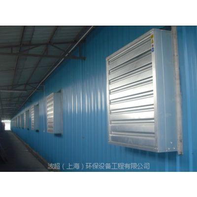 六叶玻璃钢防腐防爆负压风机 百叶窗防虫防蚊工业排风扇 大风量低耗能降温风机价格