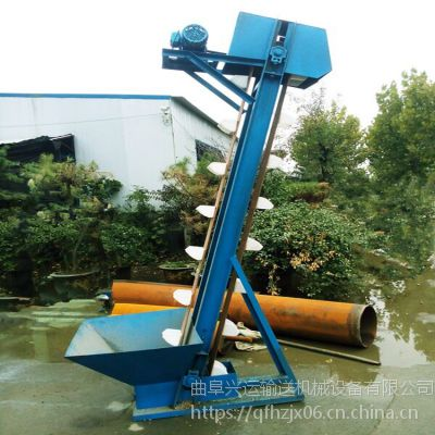 带爬梯斗提机大提升量 四平大型斗式提升机细节厂家直销