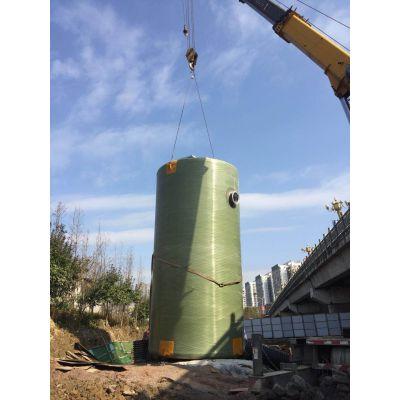 沃利克綦江污水预制泵站设备 材质玻璃钢、碳钢防腐、不锈钢污水处理设备