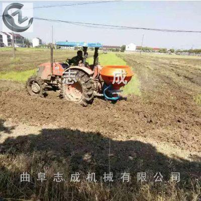 平原地带化肥撒播机 大豆种前有机肥追肥器 农用车载式撒播机