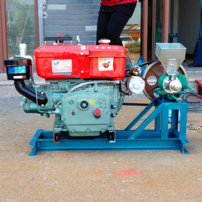 升级版易拆卸面粉膨化机 休闲食品加工设备膨化机 鼎达实用款