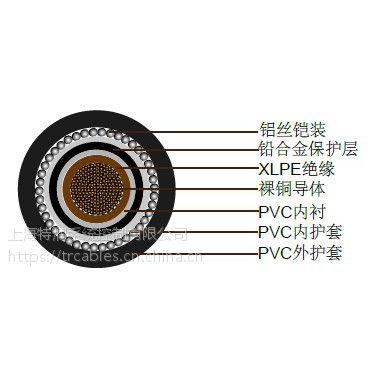 上海特润供应BS 5467 EMMU133铅护套铠装电力电缆,600/1000V