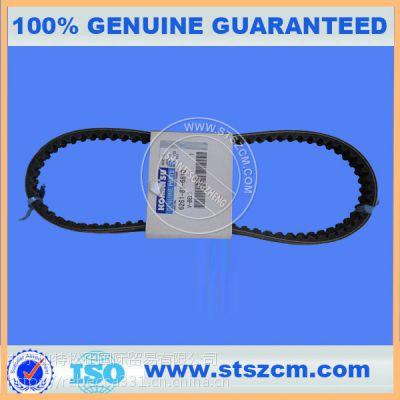 小松挖掘机配件发动机皮带300-7 400-7 水箱皮带原厂正品配件保证