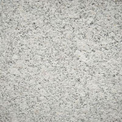 浅灰色喷砂面 火烧面石材 梨花白火烧石 河南优质花岗岩石材供应商