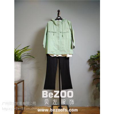 厂家直销2017春季新款品牌女装布卡拉休闲棉麻时尚大版批发