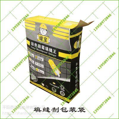 表面亚光膜彩印填缝剂二十公斤纸袋现货供应