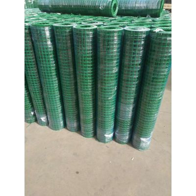 塑胶养鸡网围栏 广东园林 公路隔离栅 优盾绿色铁网围栏