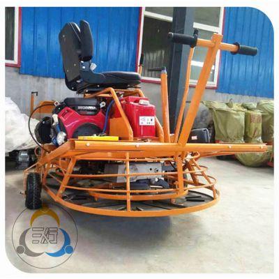 混凝土抹光机选用三人行机械设备的双盘抹光机 高效路面装修机械