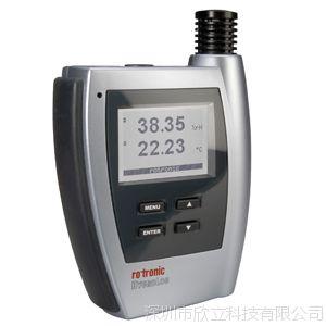 瑞士rotronic罗卓尼克HL-NT2-D单通道温湿度记录仪