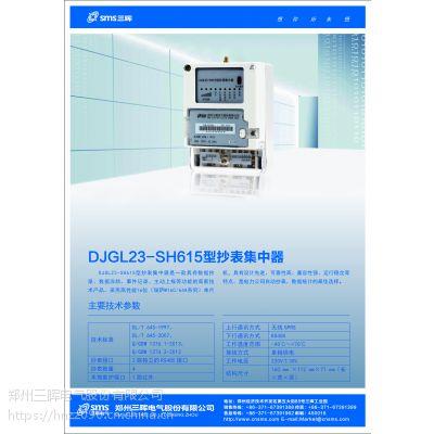 河南集中器II型DJGL23-SH615--河南简易集中器的代表作--生产厂家三晖