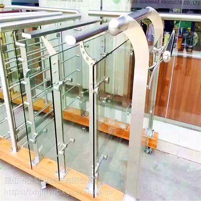 金聚进 新款不锈钢栏杆批发 不锈钢楼梯立柱护栏