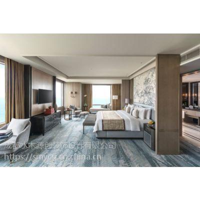 酒店客房窗帘的软装搭配技巧—水木源创设计