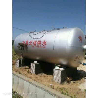 无塔供水设备 变频供水价格 开封净泉压力罐