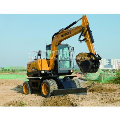 挖掘机,轮式挖掘机,恒特轮挖详情报价