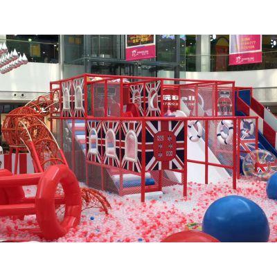 室内儿童乐园开欣童伴淘气堡设备百万海洋球大型组合式游乐设备
