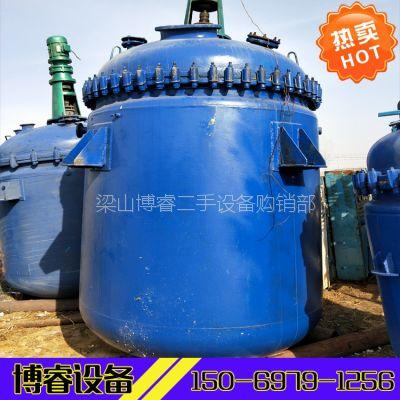 山东出售二手3吨5吨搪瓷反应釜,二手搪瓷反应釜价格,质量保证