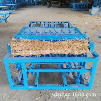 麦秸秆草帘机 中小型多针秸秆编织机 高效电动编织机 振德促销