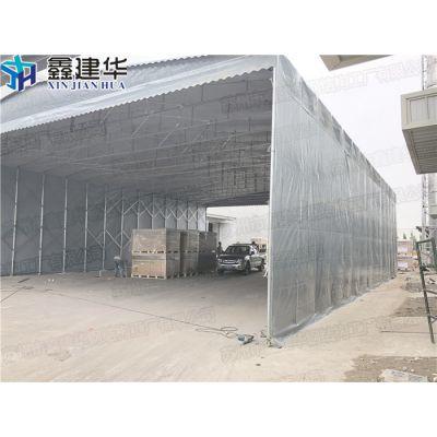 室外活动大型工厂雨棚定做厂家_布六合区制作移动伸缩帐篷
