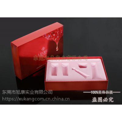 高端植绒化妆品内层包装盒 旭康厂家长期供应