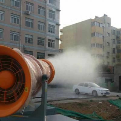 扬尘治理专用 三门峡沙石料场射程60米降尘喷雾机NRJ-60价格