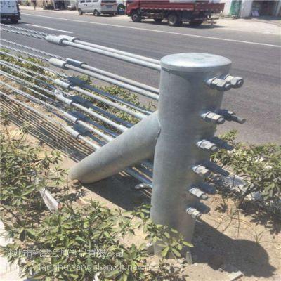 【专业生产】镀锌缆绳护栏@镀锌缆绳护栏安装