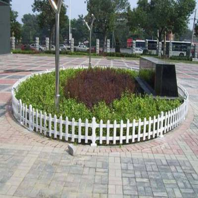 江西赣州信丰pvc塑钢护栏 pvc楼梯护栏安装图片 pvc绿化围栏
