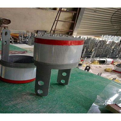 柱帽式轮廓标用于高速公路波形护栏隧道荧黄反光膜3M超工程级