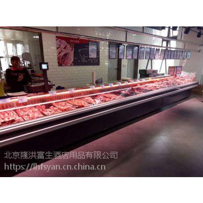 生鲜保鲜展示柜 冷藏保鲜柜 超市商用生鲜肉柜熟食冰柜
