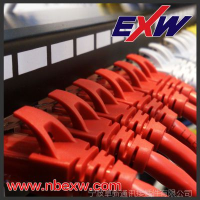七类 超六类 六类 超五类1.5MM大线径屏蔽水晶头镀金50U