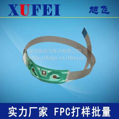 生产加工透明柔性板,透明FPC,过回流焊透明柔性线路板,PET透明线路板FPC